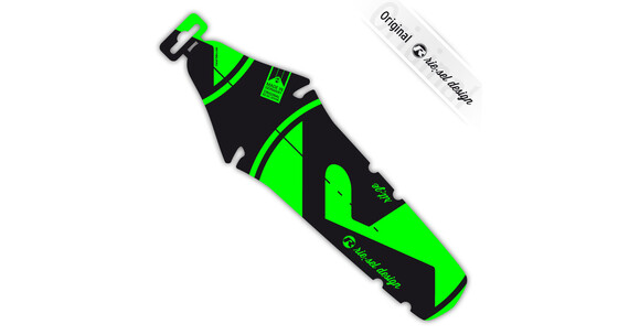 rie:sel design rit:ze Bright green label Mudguard